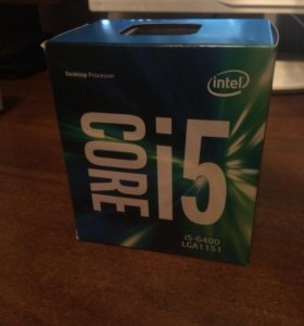 Процессор intel core i5 6400 (box)