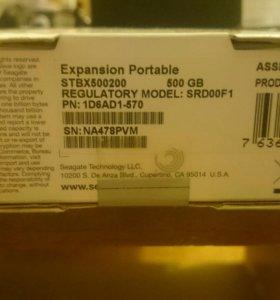 Внешний жёсткий диск Seagate 500 gb