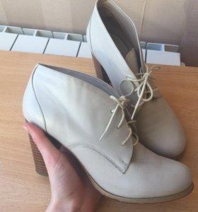 Кожаные женские туфли mascotte