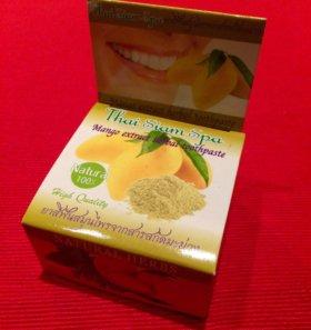 Зубная тайская паста с экстрактом манго