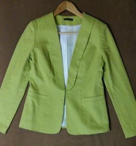Жакет зелёный
