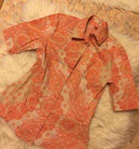 Блузка рубашка flo&jo