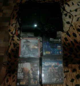 PS3 + 4 игры