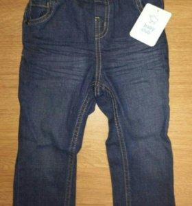 Новые джинсы  92р