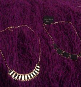 Подвески колье ожерелье