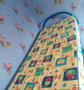 Кровать металлическая двухэтажная