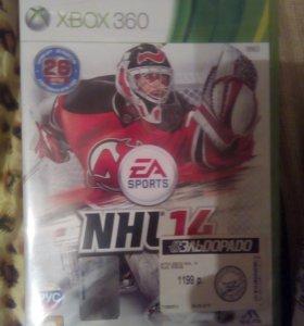 Игра NHL новая не распечатанная (в пленке)