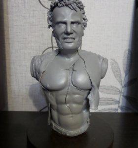 Статуэтка,скульптура,бюст,барельеф на заказ