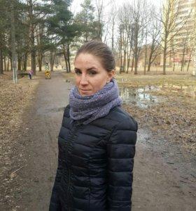 Куртка +шарф