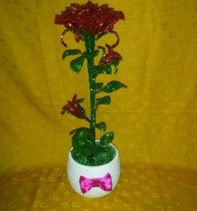 Роза из рубки