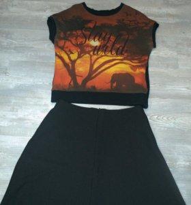 Новая юбка +джемпер