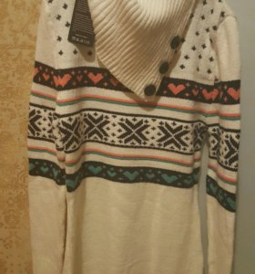 Тёплая туника -платье новая.
