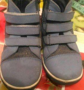 Кеды ботинки, размер 27