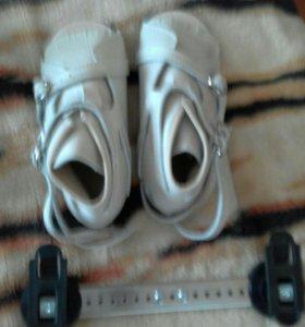 Ортопедическме ботинки (брейсы) 18 размер. Новые