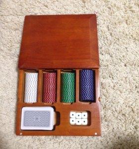 Покерный набор.