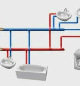 Водопровод, канализация, отопленние в домах