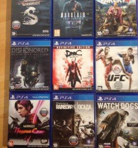 Дешевые игры PS4
