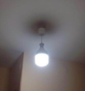Лампа-светильник 2 в 1 светодиодная