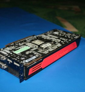 Видеокарта Radeon HD5850 1gb 256bit