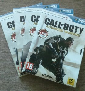 Игра на ПК - CALL of DUTY Advanced Warfare