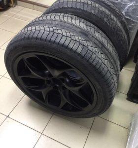 2 колеса на BMW X5