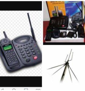 Радио-стационапный телефон новый