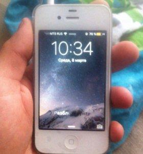 Обменяю iPhone 4s 16gb