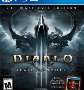 Продам диск Diablo 3 RoS на PS4