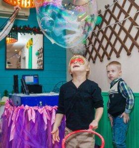 Неповторимое Шоу гигантских мыльных пузырей