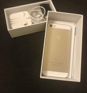 iPhone 5 s, золотой
