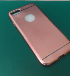 Чехол iPhone 7 розовый