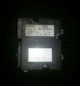 Блок управления телефоном на  Ауди 8E0862333A