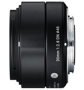 Новый объектив Sigma AF 30mm f/2.8 DNArt Micro 4/3