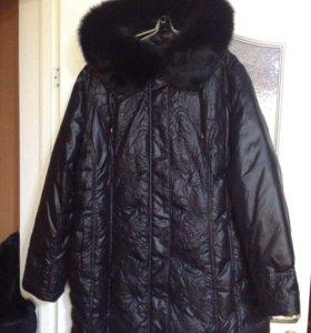 Куртка-полупальто новая,зима