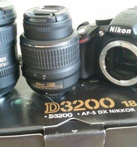 Фотоаппарат Nikon d3200 зеркальный