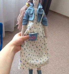 Ручная работа тапочки/кукла/зайка