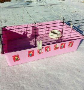 Клетка для кроликов, шиншилл!