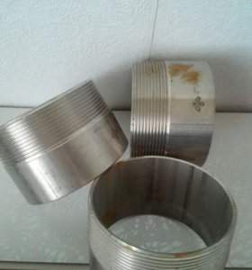 Резбочки из нержавеющей стали на 80, 7 штук
