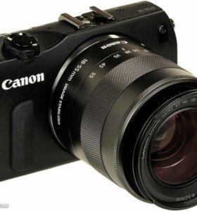 Фотоаппарат Canon EOS M + Kit 18-55
