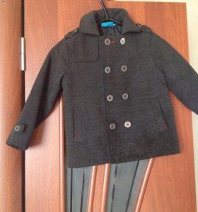 Пальто демисезонное детское на мальчика