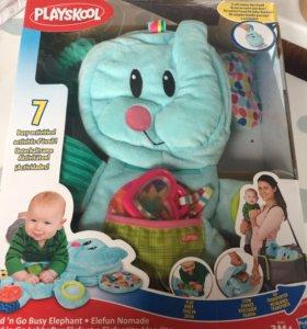 Игрушка веселый слоник playskool возьми с собой