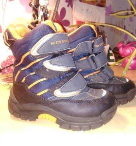 Ботиночки для мальчика,27 размер