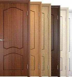 Двери межкомнатные установка