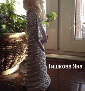 Ангел плетеный.