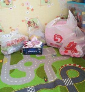5 пакетов вещей на девочку