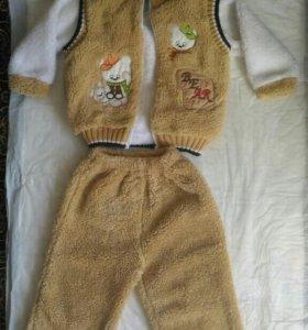 Костюмчик теплый детский
