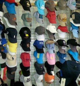 Новые кепки, Панамки, Бейсболки.