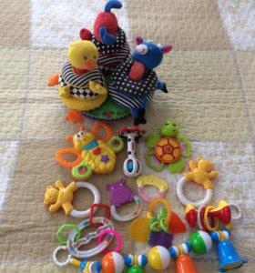 Погремушки-игрушки 📦