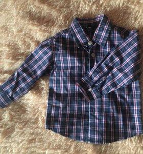 Рубашка для мальчика 12-18 мес