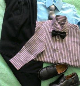 Брюки,рубашки и обувь